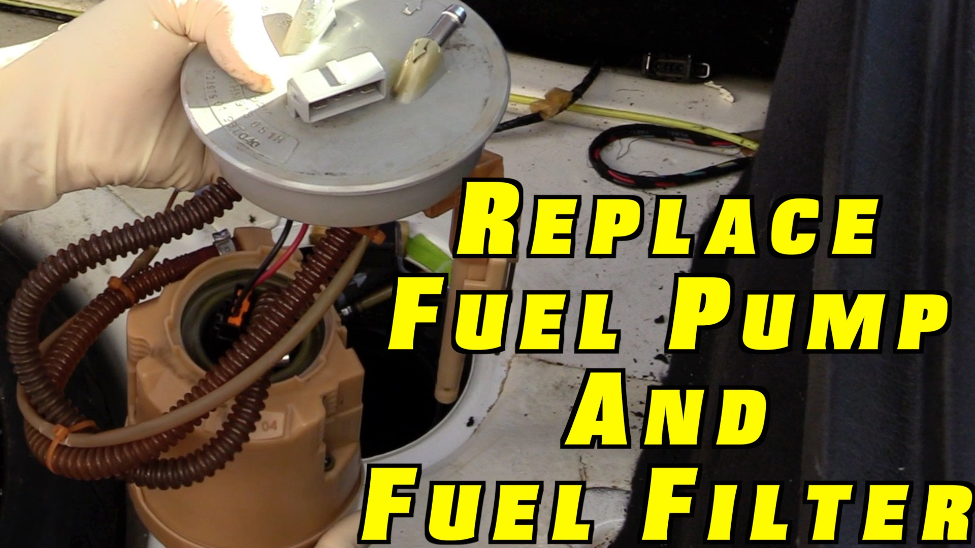 How To Replace a Fuel Pump and Fuel Filter ~ Project White Wookie | Humble Mechanic