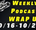 Audio Weekly Podcast Wrap Up 10-/16-10/20