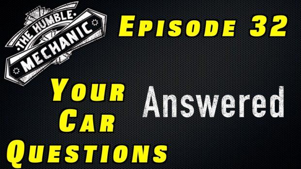 Listener Automotive Questions ~ Audio Podcast Episode 33