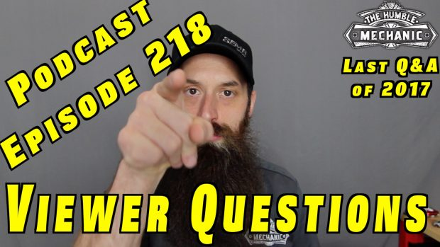 Viewer Car Questions ~ Podcast Episode 218