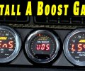How To Install A Boost Gauge On Any Car