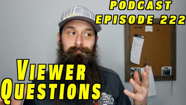 Viewer Car Questions ~ Audio Podcast Episode 222