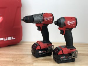 Milwaukee M18 Fuel 18v Drill/Impact Set