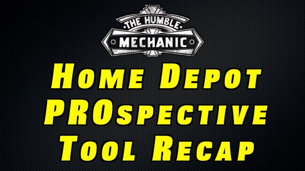 """The Home Depot """"Prospective"""" Tool Round Up"""