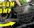 How To Replace or Reseal Brake Vacuum Pump